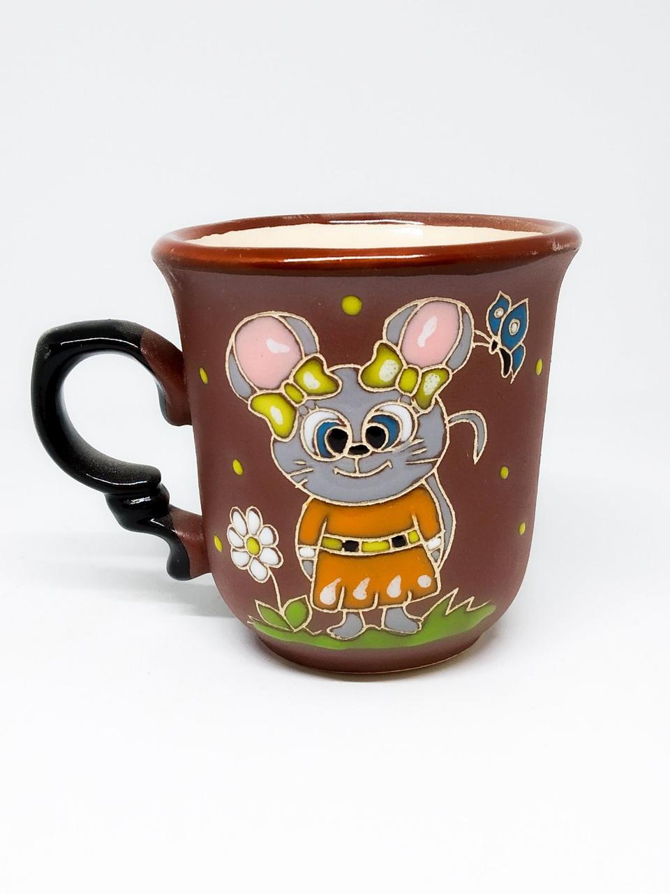"""Чашка кофейная """"Мышка малышка"""""""