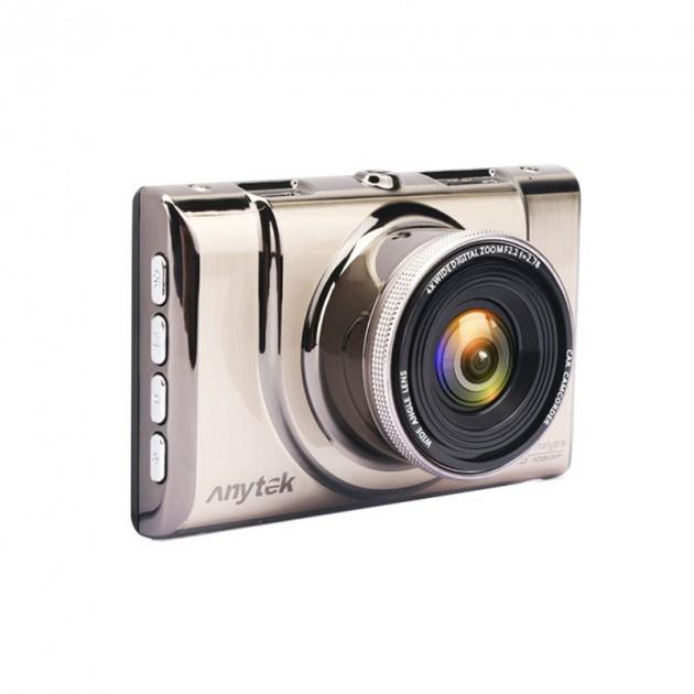 Автомобильный видеорегистратор Anytek на 2 камеры HDMI A100H