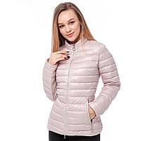 Нежная женская куртка короткая (42-48) демисезон