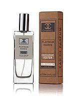 Чоловічий тестер Chanel Egoiste Platinum 70 мл