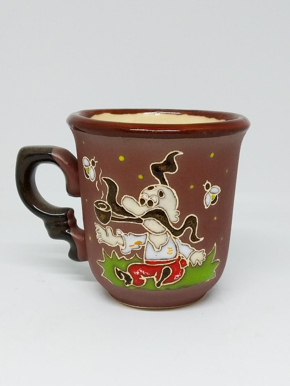 """Чашка кофейная """"Казак с трубкой"""""""