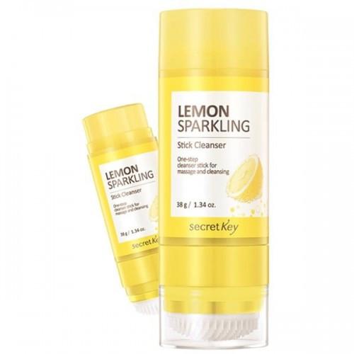 Очищающий стик с экстрактом лимона Secret Key Lemon Sparkling Stick Cleanser