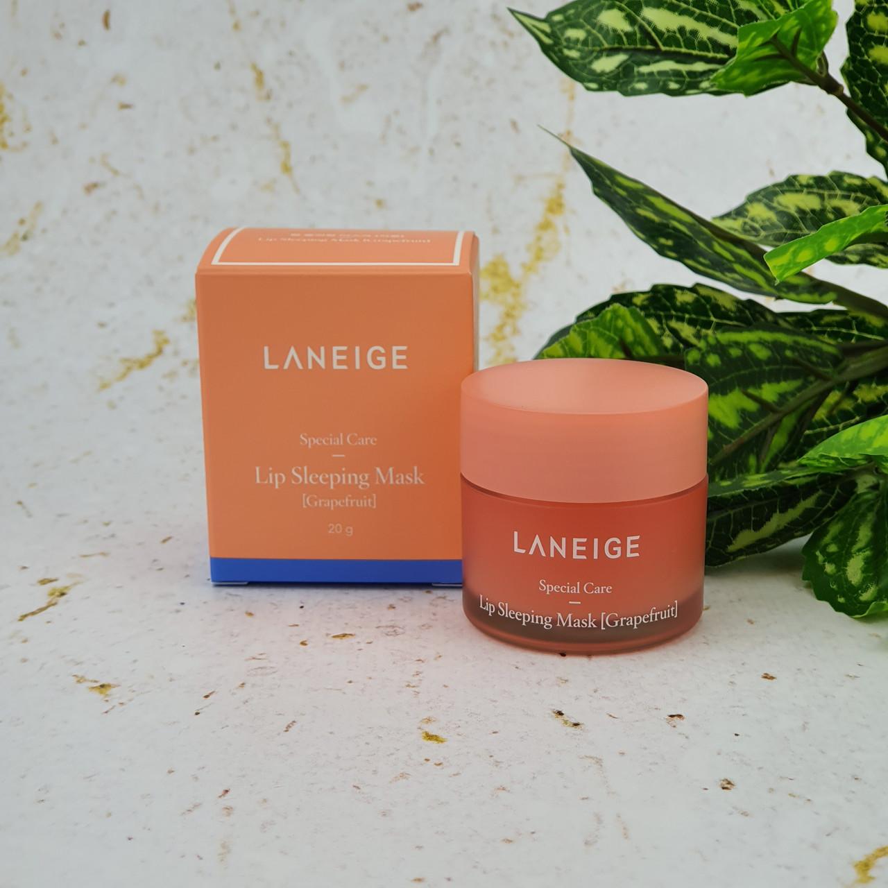 Ночная маска для губ Грейпфрут LANEIGE Lip Sleeping Mask Grapefruit 20 г