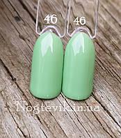 Гель лак для ногтей  светло салатовый  Sweet Nails 8мл