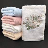 Банное полотенце махра 1,4 x 0,7