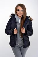 Куртка женская 123R5501 цвет Темно-синий