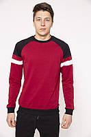 Свитшот мужской 119R041(764) цвет Бордовый