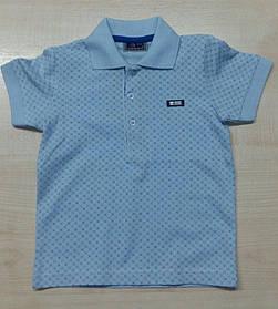 Рубашка поло мальчику с короткими рукавами