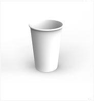 Картонный стакан 1,4 Л белый