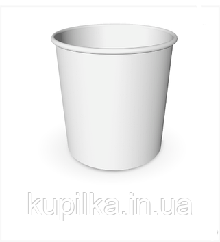 Картонный стакан 5 Л белый