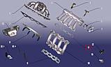 Прокладка впускного коллектора верхняя Chery Jaggi / Kimo, фото 2