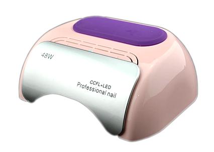 Гибридная CCFL+LED лампа UKC 48W Pink, фото 2