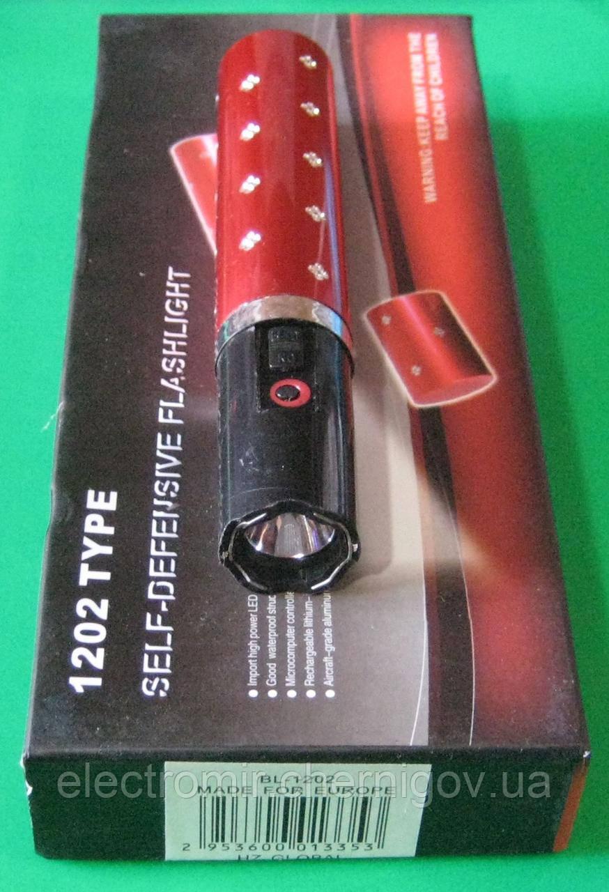 Фонарь-отпугиватель женский Police-1202 Type (красный)