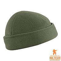 Шапка флисовая Helikon-Tex® WATCH Cap - Fleece - Olive Green
