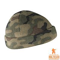 Шапка флисовая Helikon-Tex® WATCH Cap - Fleece - PL Woodland