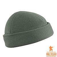 Флісова Шапка Helikon-Tex® WATCH Cap - Fleece - Foliage Green, фото 1