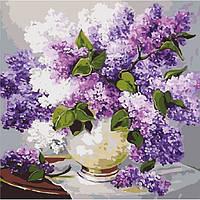 Картина по номерам Весенние ароматы ТМ Идейка 40 х 40 см КНО2085, фото 1