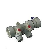Колектор з кульовими кранами ППР KOER 40х20 на 2 виходи
