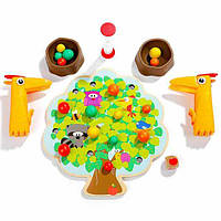 Игра с пинцетом на моторику рук Фруктовое дерево яблочки Top Bright 120379
