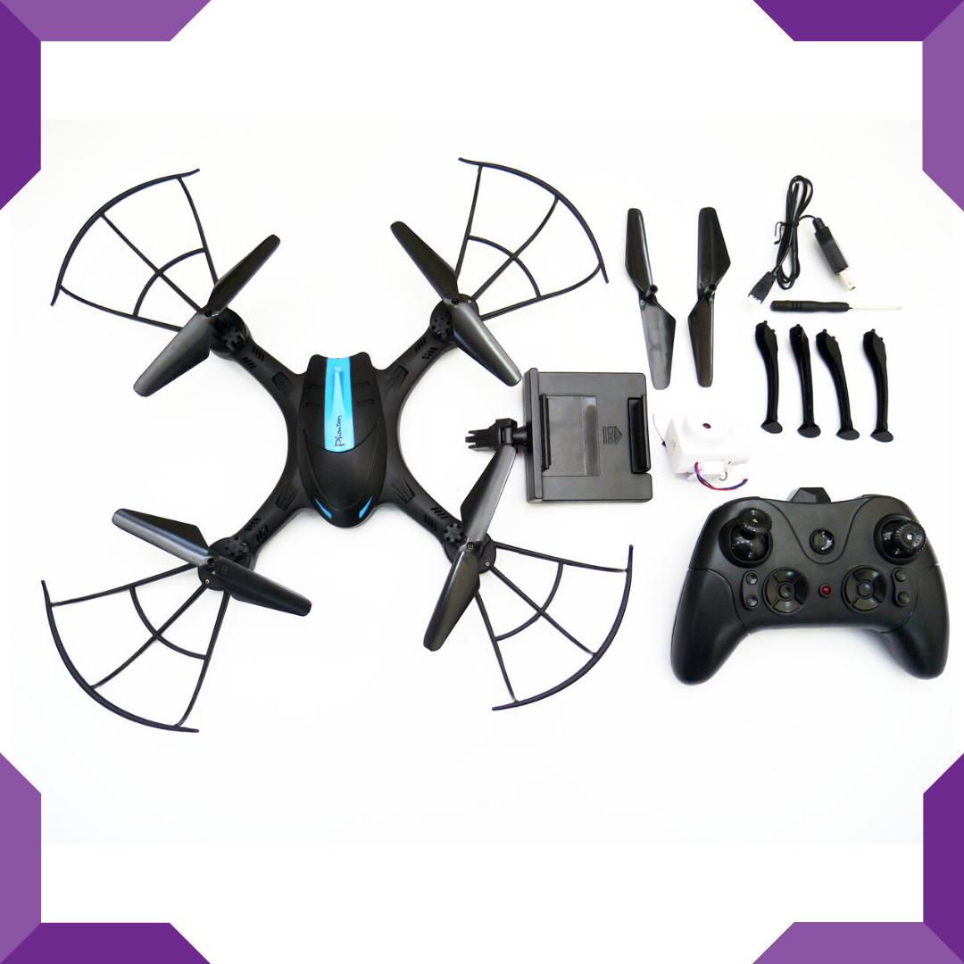 Квадрокоптер,летающий дрон LH-X43W WiFi