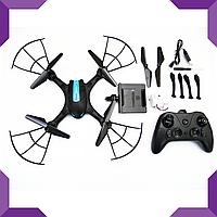 Квадрокоптер,летающий дрон LH-X43W WiFi, фото 1