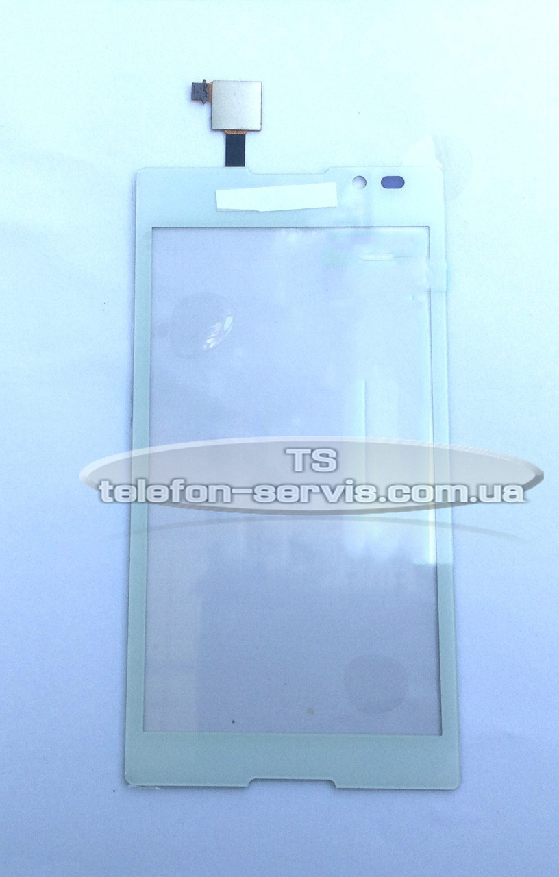 Сенсорный экран для  Sony C2305 S39h Xperia C,белый