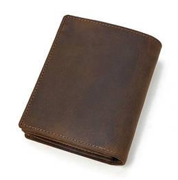 Кожаный мужской портмоне. Модель DM-13