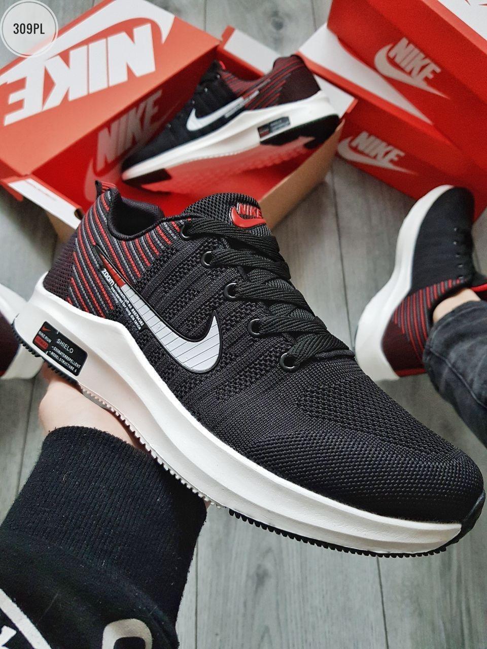 Мужские кроссовки Nike Run Z00m Black/Red/White