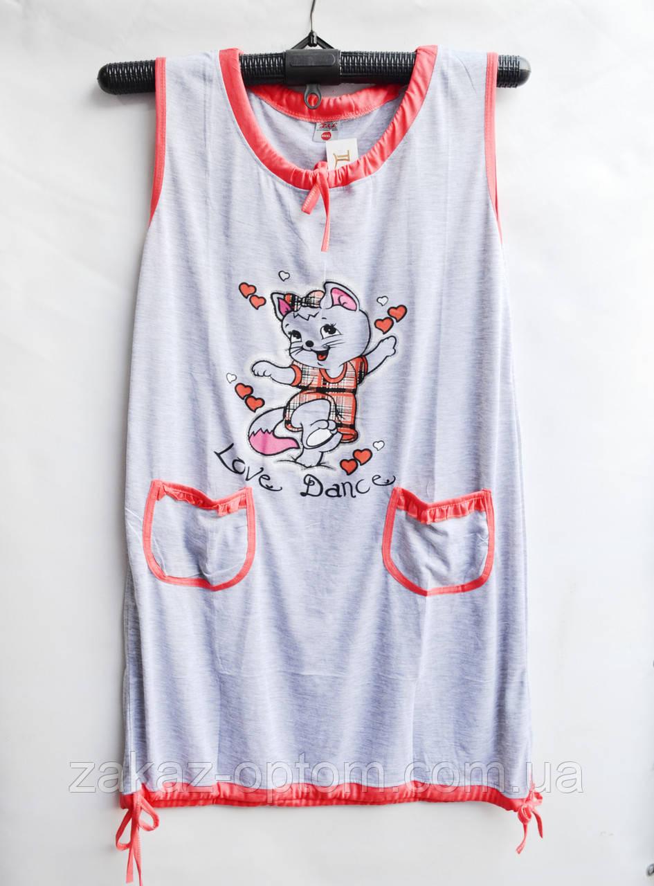 Ночная рубашка оптом 100%Cotton (XL-4XL) D61-50080