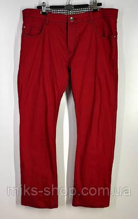 Яркие мужские прямые джинсы на пуговицах бренда BUCK ROJER размер 54, фото 2