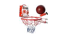 Баскетбольное кольцо Bambi M 2654 45см(металл) с мячом и насосом