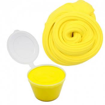 Глина для слаймов Жёлтая (500г)