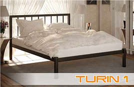 Кровать металлическая Турин Turin фабрика Метакам