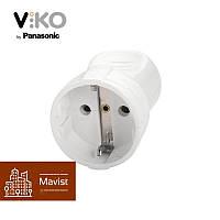 Штепсельная розетка с заземлением Viko 903021800