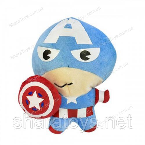 Мягкая  игрушка капитан Америка
