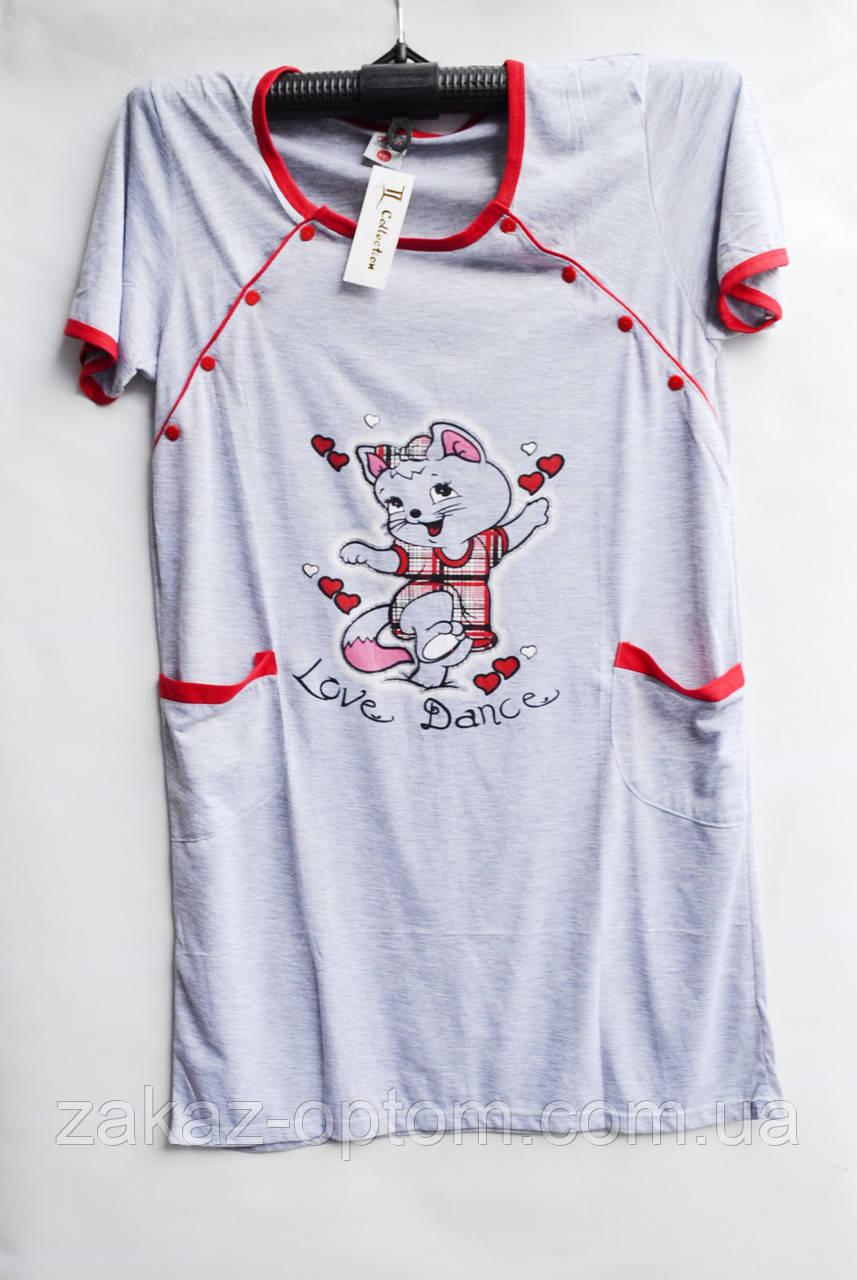 Ночная рубашка оптом 100%Cotton (XL-5XL) D99-50095