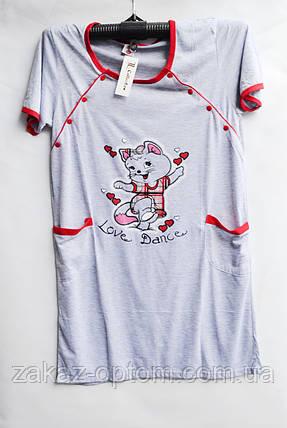 Ночная рубашка оптом 100%Cotton (XL-5XL) D99-50095, фото 2