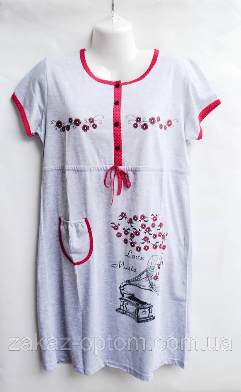Ночная рубашка оптом 100%Cotton (XL-4XL) D101-50099