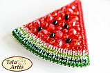 Набір для виготовлення брошки Тела Артіс Кавунчик Б-004, фото 2