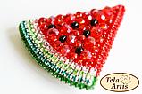 Набір для виготовлення брошки Тела Артіс Кавунчик Б-004, фото 3