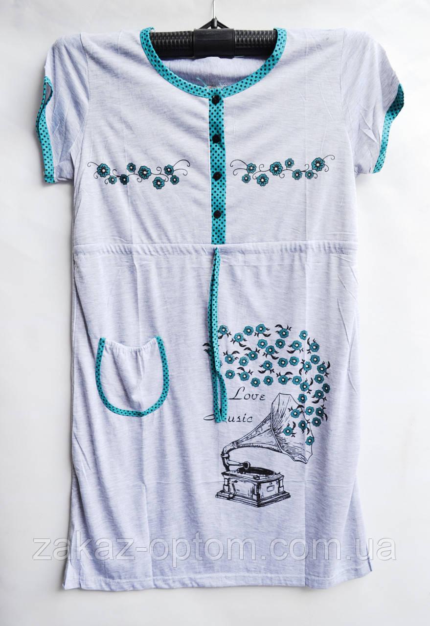 Ночная рубашка оптом 100%Cotton (XL-4XL) D101-50101