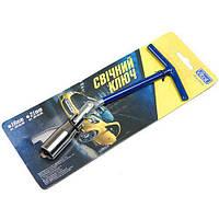 Ключ свечной 182-T018B (16 mm) (182-T018B)