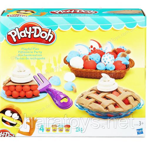 "Набор для творчества из пластилина ""Play-Doh"" 4 цвета"