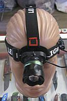 Фонарь налобный аккумуляторный Police BL-T06-T6, фото 1