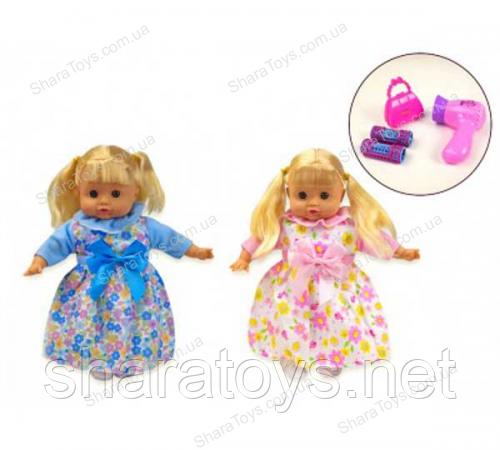 Кукла музыкальная с феном и аксессуарами