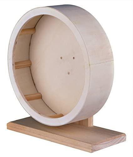 Деревянное колесо для грызуна (крыса), 22хd-20х9.3см
