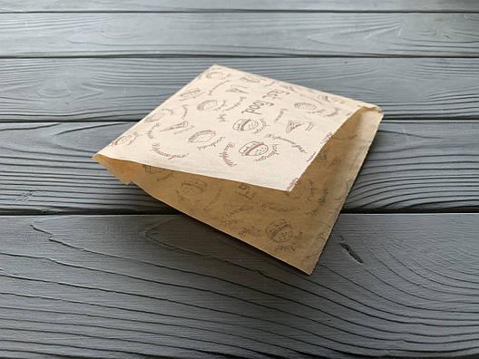 Бумажная упаковка для блинов Эко стиль 45, фото 2