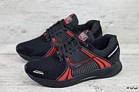 Мужские кроссовки Nike (Реплика) (Код: Н ч/кр  ) ►Размеры [40,41,42,43,44,45], фото 1