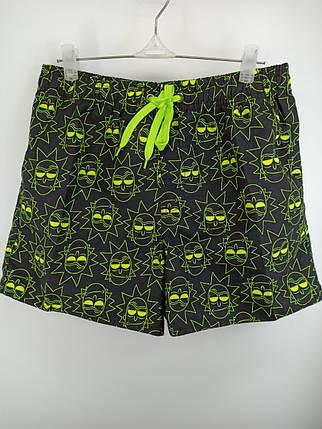Мужские короткие шорты Z.Five 8917 лимонные 44 46 48 50 52 размер., фото 2
