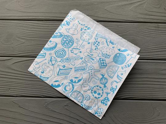 Упаковка бумажная для блинов с печатью 34, фото 2